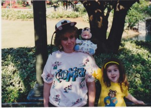 Thanks for the Disney World trip and tolerating the outfit and hat!