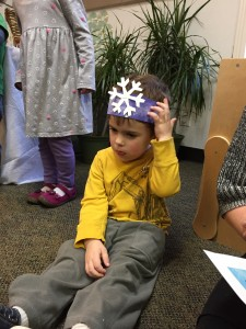 Here is B at his school Christmas party. I think I've successfully spread all of my holiday cheer to him.